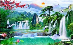 Tranh gạch Phong cảnh có sẵn