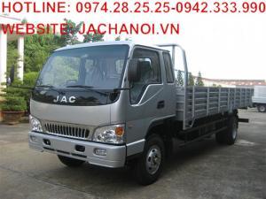 Sở hữu xe tải JAC 6T4 chỉ với 144 triệu