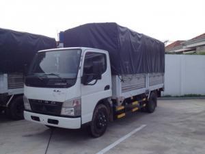 Xe tải Misubishi Fuso Canter 4.7 nâng tải lên...