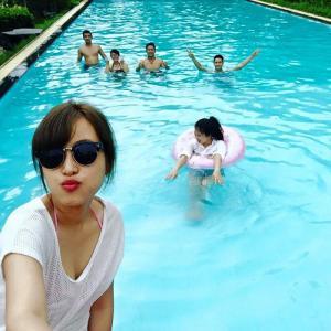 hồ bơi khu nghỉ dưỡng sunset villas & resort
