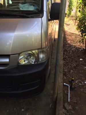 Bán Toyota hiace 2005 máy dầu , xe giá đình