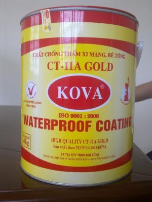 Sơn chống thấm KOVA CT 11A .Đại lý sơn KOVA chính hãng.