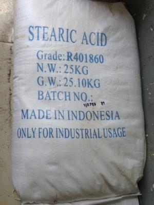 Stearic Acid R40 1860 dùng trong ngành cao su, nhựa, lơ đánh bóng, nến.