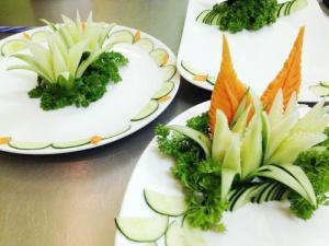 Khóa học Cắt tỉa Rau, củ, quả trang trí món ăn tại Hà Nội và Hồ Chí Minh