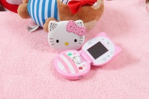 Điện thoại hello kitty T99 gấp thời trang