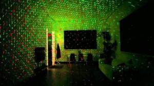 Đèn Trang Trí Laser Star Shower Chiếu Sáng Cực Đẹp