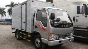 Xe tải 2 tấn rưỡi , Xe tải JAC 2,4 tấn thùng kín tại Hải Phòng 330 triệu