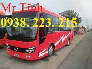 Mẫu xe 29 chỗ thaco tb82 mới, mẫu xe 29 chỗ...