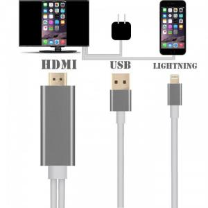 CÁP IPHONE 5 6 RA HDMI - Lightning to HDMI