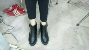 Boot cao gót nữ đẹp lót nỉ mịn