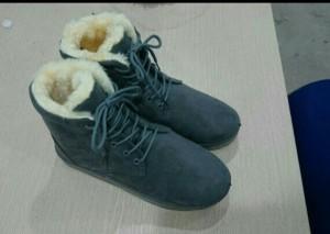 Boot da lộn lót lông đẹp