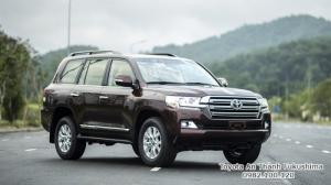 Giá xe Toyota Land Cuiser 2017 từ Đại lý Toyota 100% vốn Nhật - Toyota An Thành Fukushima, gọi đến 0982 100 120 để nhận báo giá chính xác nhất