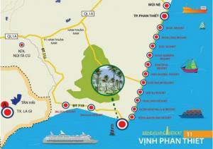 Condotel Resort 4 sao Biển Đá Vàng- Mũi Kê Gà-Phan Thiết