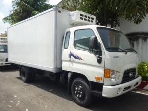 Xe tải Hyundai HD72 đông lạnh nhâp khẩu nguyên chiếc