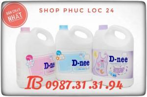 Giặt Dnee Tặng Bỉm S- M - L - XL