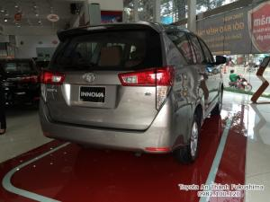 Toyota Innova E 2018 số tự động HCM | Gọi đến 0982 100 120 để biết giá hiện tại cùng các chương trình hỗ trợ mua xe Innova từ Đại lý Toyota 100% vốn Nhật - Toyota An Thành Fukushima