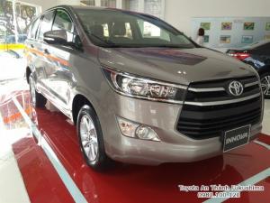 Khuyến Mãi Mua xe Toyota Innova G 2017 Số Tự Động Màu Đồng Ánh Kim. Vay Trả Góp Chỉ 285Tr. Giao Xe Tháng 09/2017