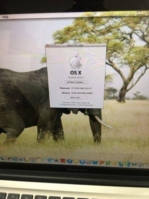 Macbook Pro 15inch MD318 - i7/ram8/hdd500/card1gb
