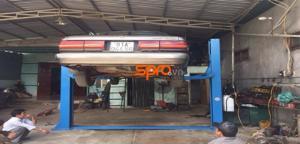 Các loại cầu nâng 2 trụ sửa xe ô tô phổ biến hiện nay
