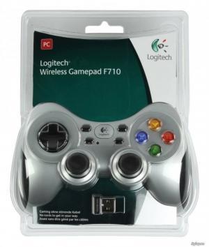 Tay game không dây Logitech Wireless F710