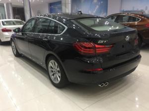 BMW 5 Series 5 GT model 2017, màu đen, xe nhập
