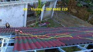 Vật liệu mái chống nóng