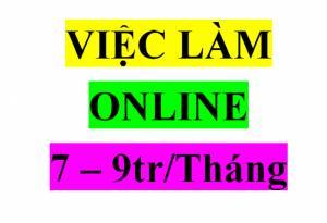 Việc Làm Online Tết 2tr1/tuần Tuyển Gấp 5 Người