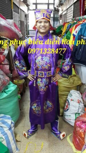 Cho thuê trang phục vua quan thần tài thổ địa