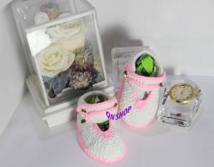 Giày len - em bé- 002GLNK - 04