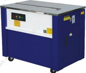 máy đai thùng,máy đóng đai thùng tự động,máy đóng đai thùng bán tự động