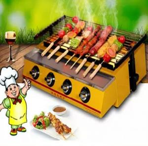 bếp nướng thịt xiên,bếp nướng chân gà,bếp nướng cánh gà