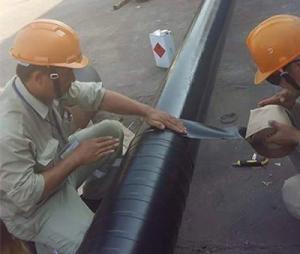 Bọc ống chống ăn mòn cho đường ống kim loại van khớp nối