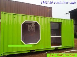 Kích tấc container văn phòng 40ft – kích thước đạt đúng tiêu chuẩn container