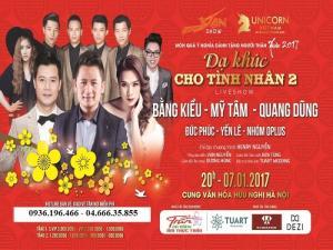 Mua vé Dạ khúc cho tình nhân 2 Bằng Kiều, Mỹ Tâm tại Hà Nội ở đâu?