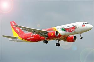 Vé máy bay giá rẻ của hãng Vietjet Air