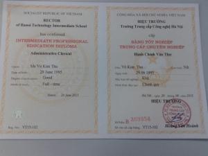 Học văn bằng 2 văn thư, kế toán, xây dựng tại trường trung cấp công nghệ Hà Nội