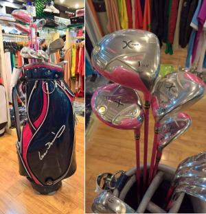Bộ gậy Golf nữ GVTour X-2 sale lớn khuyến mãi to cuối năm