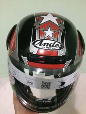 Fullface Andes: 350k ( thị trường 500k)