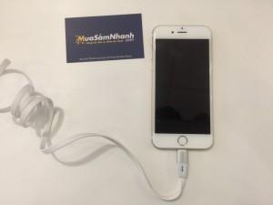 Cáp sạc BASEUS thông minh tự động ngắt cho iPhone 5/6 2.1A