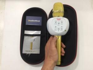 Micro Karaoke ZBX-66,X66 Chính Hãng , Âm Thanh Hay Sống Động Như Phòng Karaoke - MSN181076