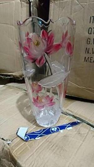 Bình, lọ hoa thủy tinh đẹp cắm hoa ngày tết