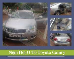 Posavo Lắp Đặt Nệm Hơi Ô Tô Xe Toyota Camry Cho Anh Minh Tại Tỉnh Bình Dương