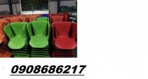 Ghế nhựa chân inox giá rẻ tải xưởng sản xuất