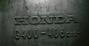 Đầu máy Honda G400