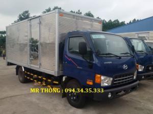 Hyundai Hd700 7.5 Tấn Đồng Vàng Thùng Kín Inox,hỗ Trợ Vay 80% Giá Trị Xe