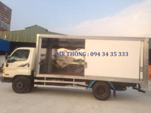 Hyundai Hd72 3.5 Tấn Đồng Vàng - Thùng Kín Alu Composite,hỗ Trợ Vay 80% Giá Trị Xe