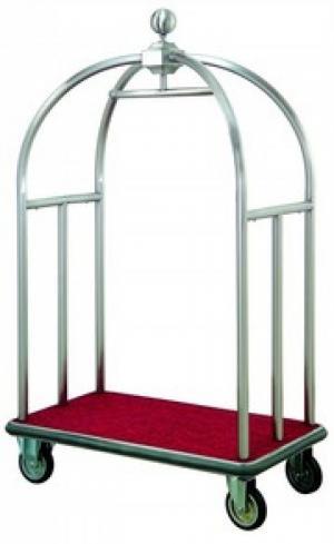 Xe đẩy hành lý XCL-10 Kích thước: 1100x650x1860(mm) Chất liệu: Inox 304, 201 Bánh xe cao su đúc Tải trọng: 300kg Sản xuất: Việt Nam Bảo hành: 1 năm