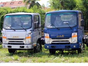 jac1t9 thùng kin, xe tai 2t vao thanh pho, xe tai 1t9 thung kin