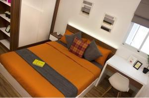 Phòng ngủ căn hộ 9 view quận 9