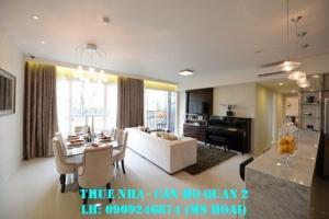 Cho thuê căn hộ chung cư Masteri Thảo Điền, quận 2, Hồ Chí Minh. 2 Phòng ngủ, đầy đủ nội thất.